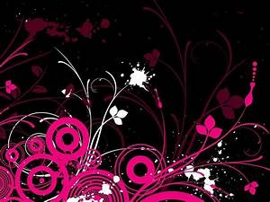 Pink And Black Backgrounds For Desktop - Wallpaper Cave