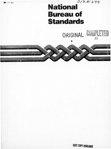 national bureau of standards national bureau of standards digital library