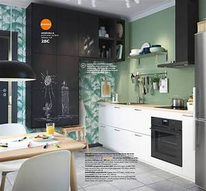 Cuisines Ikea 2018 : cuisine ikea les nouveaut s du catalogue 2018 c t maison ~ Nature-et-papiers.com Idées de Décoration