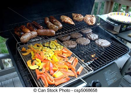 ideas for grilling out bbq cookout cookout with food on the grill pictures search photographs and photo clip art