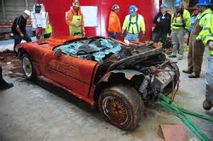 national corvette museum sinkhole to be filled motor