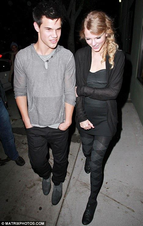 Taylor made for each other....Swift and Lautner go public ...