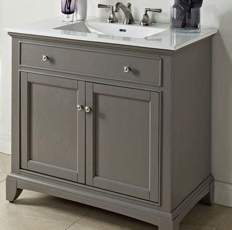 Modern Bathroom Vanities Mississauga by Fairmont Designs Smithfield 36 Quot Vanity Medium Gray