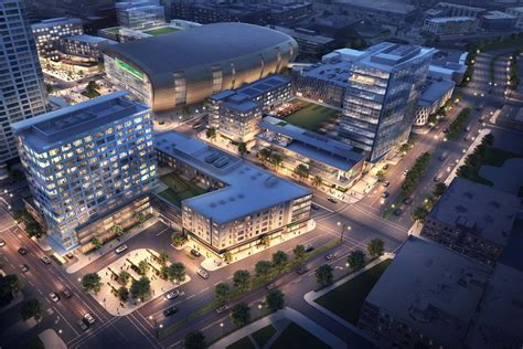 Deer District: Fiserv Forum anchors Milwaukee's newest 30 ...