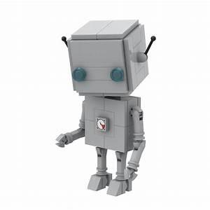U0026quot Block Head Bot U0026quot  Instructions   Parts List