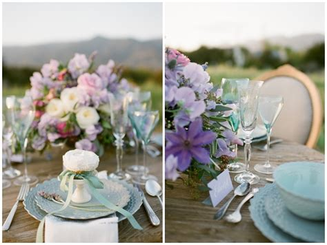 Lavender + Mint Wedding Ideas