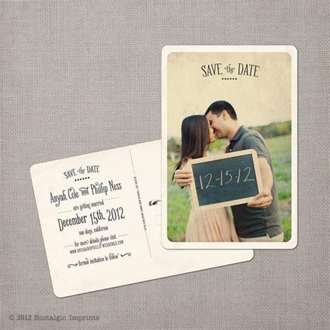 Vintage Save the Dates Emmaline Bride Wedding Blog