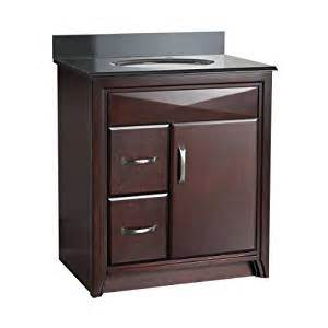 foremost cala3021dl cavett 30 inch bath vanity with left