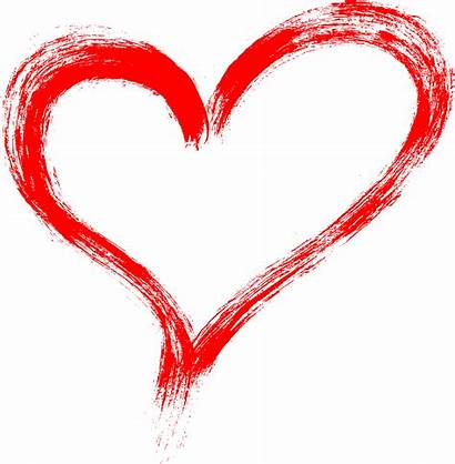 Heart Stroke Brush Grunge Transparent Onlygfx Px