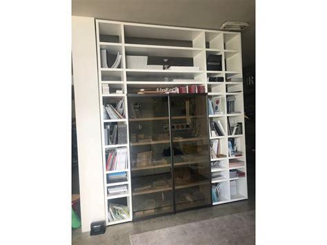 libreria poliform libreria poliform in laccato opaco a prezzo scontato