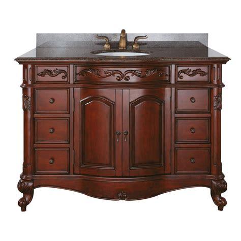 large single sink vanity provence large 48 antique single sink bathroom vanity by