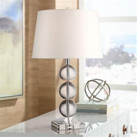 Mersenne Crystal Globe Table Lamp  #x6621  Lamps Plus