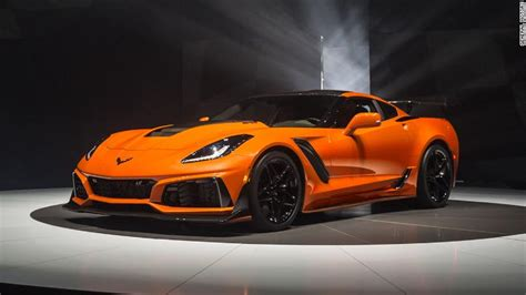 Gm Unveils Fastest Corvette Ever