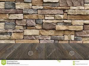 Texture Terrasse Bois : texture de terrasse en bois et de mur en pierre photo ~ Melissatoandfro.com Idées de Décoration