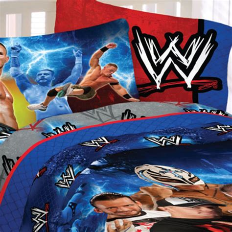 wwe comforter set queen chions bedding set 5pc cena comforter sheets bed