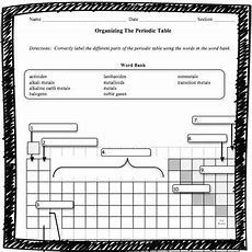 Organizing The Periodic Tab By Adventures In Science  Teachers Pay Teachers