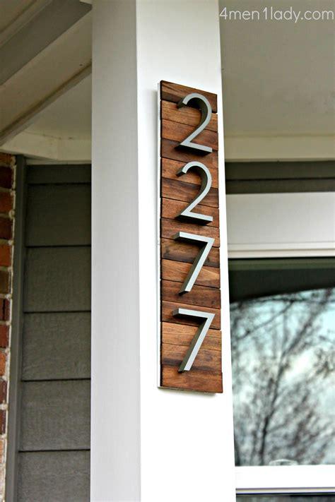 creative diy house number ideas