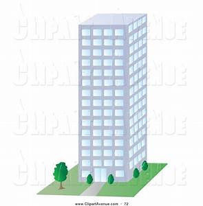 City clipart company building - Pencil and in color city ...
