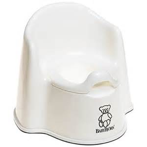 baby bjorn potty chair white