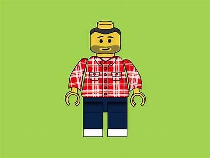 Lego Hipster Developer Character Dribbble Illustration