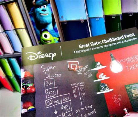 chalkboard paint colors lowes black or colored