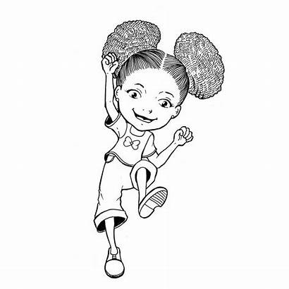 Coloring Pages African Drawing Afro American Drawings
