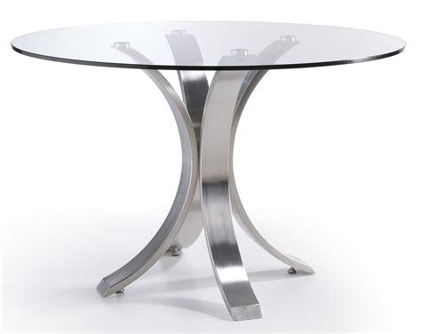 table a manger ronde en verre superbe salle a manger table ronde 9 table ovale acier bross233 et plateau en verre majestua