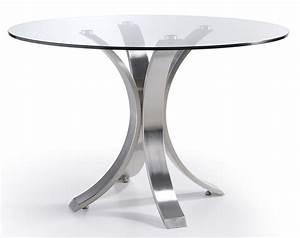 Table A Manger En Verre Ikea : plateau en verre rond ikea avec design table de salle ~ Teatrodelosmanantiales.com Idées de Décoration
