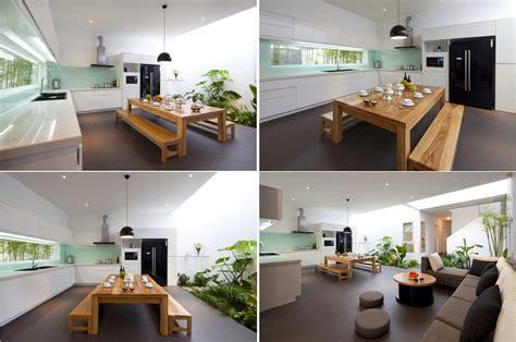 garden kitchen design minimalist house indoor garden kitchen inspiration 1196
