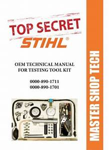 Manuals And Guides 171208  Stihl Tool Manual