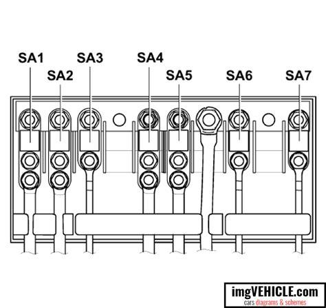 volkswagen passat  fuse box diagrams schemes