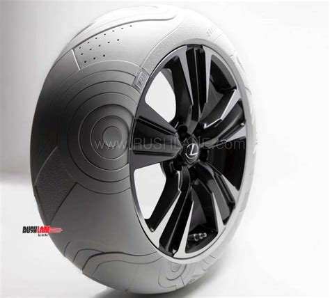 lexus ux crossover  tyre inspired  nike air force