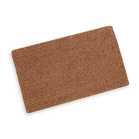 Plain Coir Doormat by Plain Coir Door Mat Bed Bath Beyond