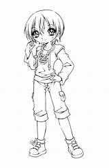 Coloring Anime Deviantart Sureya Adult Pages Lineart Chibi Hotaru Fairy Yampuff Colouring Drawings Sheets Christmas Cutie Printable Character Sakamoto Fan sketch template