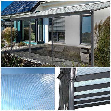 überdachung terrasse alu home deluxe terrassendach pergola 220 berdachung terrassen 252 berdachung terrasse alu ebay