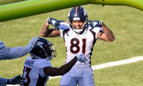Denver Broncos: Tim Patrick has high hopes for wide ...