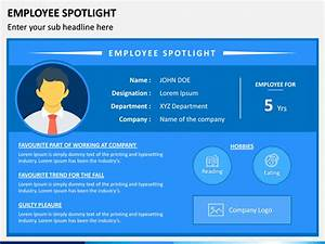 Employee Spotlight Powerpoint Template
