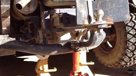 started rtv rear axle repair youtube