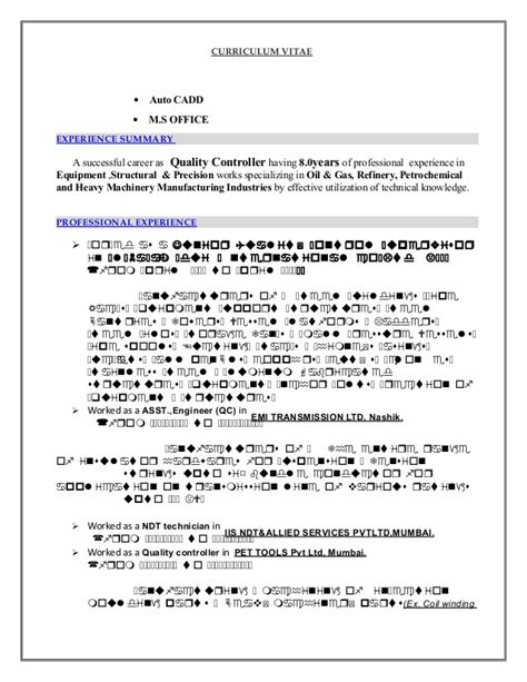 Welding Inspector Cv Sle by Cv For Welding Inspector Ud 08 05 14