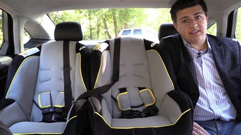 ford fusion child seat review youtube