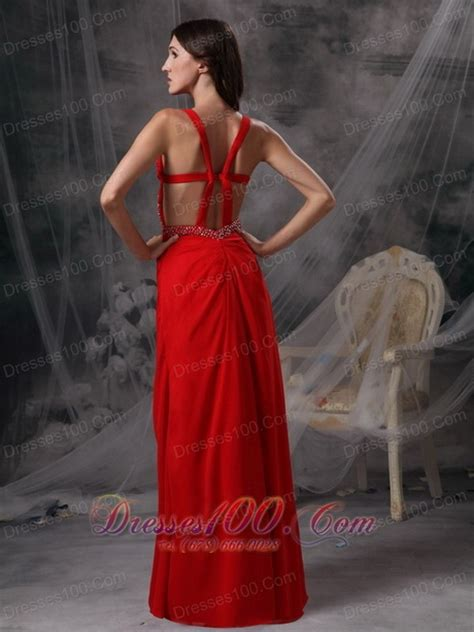 blood red dress