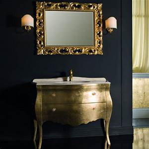 Meuble Salle De Bain Marbre : meuble vasque retro ~ Teatrodelosmanantiales.com Idées de Décoration