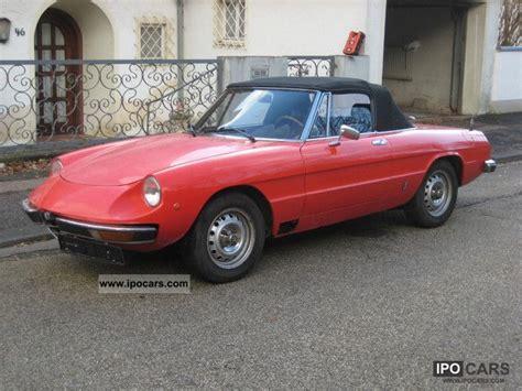 1979 Alfa Romeo Spider by 1979 Alfa Romeo Spider 2000 Car Photo And Specs