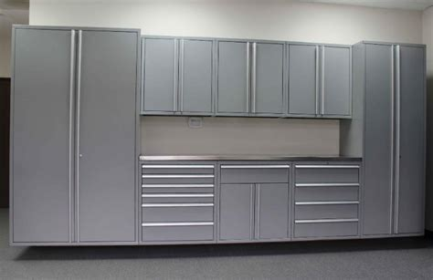metal garage cabinets low prices on high quality heavy duty saber garage cabinets