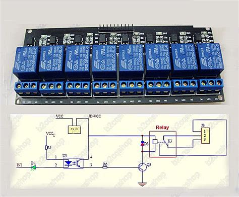 Not Sure How Wire Vdc Vac Arduino Relay Board