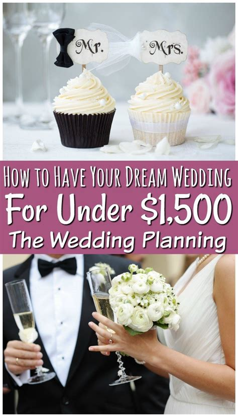 How to Plan a Wedding on a Budget Even for Less than $1500
