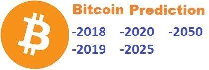 bitcoin price prediction      year