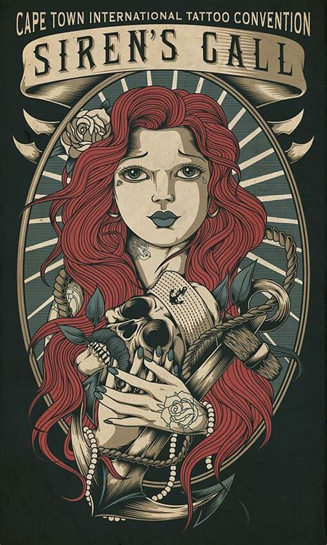 Tattoo Convention Poster   Affiches Pinterest