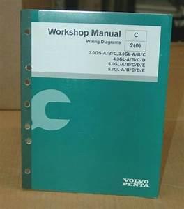 Volvo Penta Workshop Manual  Wiring Diagrams