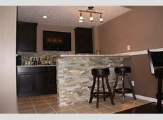 Basement Bar Ideas Cleveland Eclectic Basement